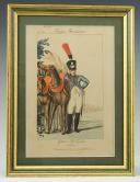 MARTINET : Troupes françaises, planche 101, Train des équipages de la Garde Impériale, Premier Empire.