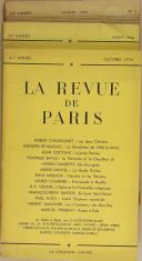 """Photo 2 : THIÉBAUT - """" La Revue de Paris """" - Lot de Périodiques - 54ème année à la 73ème - Paris - (1947-1966)"""