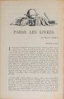 """Photo 5 : THIÉBAUT - """" La Revue de Paris """" - Lot de Périodiques - 54ème année à la 73ème - Paris - (1947-1966)"""