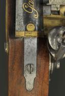 PAIRE DE PISTOLETS DES GARDES DU CORPS DE LA MAISON MILITAIRE DU ROI, premier modèle, 1814-1816, PREMIÈRE RESTAURATION. (7)