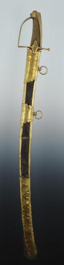 SABRE D'OFFICIER DE CHASSEUR À CHEVAL, VERS 1792-1800, RÉVOLUTION. (2)