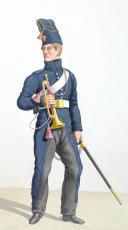 1816. Train des Equipages Militaires. Sous-Lieutenant, Trompette. (2)