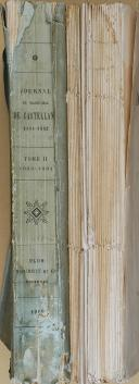 "CASTELLANE  - "" Journal du Maréchal de Castellane 1804-1862 "" - Lot de 2 volumes - Plon - 1897 (6)"