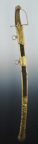 SABRE D'OFFICIER DE CHASSEUR À CHEVAL, VERS 1792-1800, RÉVOLUTION. (6)