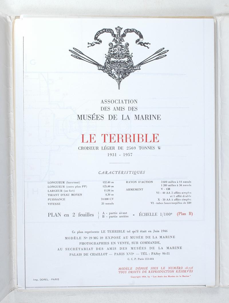 Contre torpilleur le terrible for Divan le terrible lucien