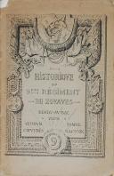 """Photo 1 : FONTANA - """" Historique du 9ème Régiment de marche de Zouaves dans la grande guerre 1914–1918 """" - Alger - 1921"""