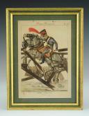 MARTINET : Troupes françaises, planche 238, Train d'artillerie de la Garde Impériale, Premier Empire.