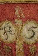 SABRETACHE DU CITOYEN NICOLAS OMELIN HUSSARD AU 5ème REGIMENT, TROISIÈME TYPE 1792-1794, REVOLUTION. (2)