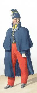 1830. Infanterie Légère. Officier Supérieur, chasseur (2)