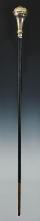 Photo 2 : CANNE DE TAMBOUR MAJOR DE GARDE NATIONALE, modèle 1830, Monarchie de Juillet.