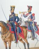 1822. Artillerie à Cheval, Chef d'Escadron, Trompette. (2)