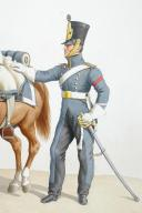 1820. Train des Equipages Militaires. Maréchal des Logis. (2)