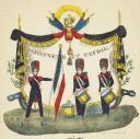 LETTRE ILLUSTRÉE DU TAMBOUR RAFIN DES GRENADIERS D'INFANTERIE 1830 (3)