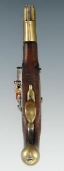 Photo 5 : PISTOLET DE CAVALERIE, modèle An IX de Saint Etienne, PREMIER EMPIRE.