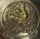 Photo 5 : CANNE DE TAMBOUR MAJOR DE GARDE NATIONALE, modèle 1830, Monarchie de Juillet.