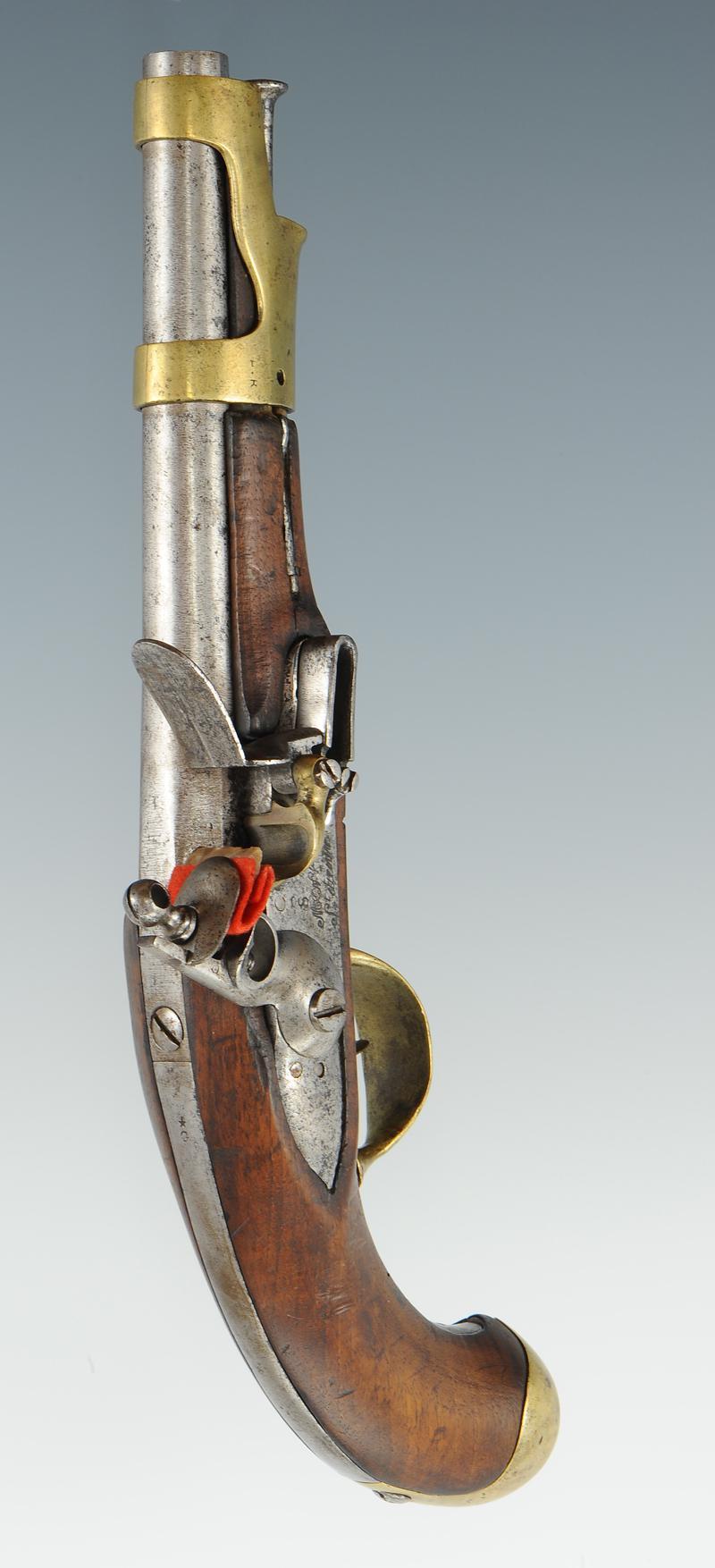 Pistolet de cavalerie mod le an ix de saint etienne premier empire - Pistolet a clou ...