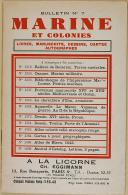 "CH. EGGIMANN - "" Marine et Colonies "" - Bulletin n°7 - Paris"