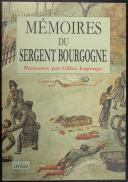 LAPOUGE : MÉMOIRES DU SERGENT BOURGOGNE (1)