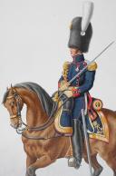 Photo 2 : 1824. Garde Royale. Artillerie à Pied. Lieutenant-Colonel.