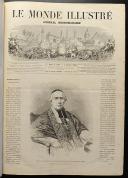 Photo 2 : LE MONDE ILLUSTRÉ, TOME XII : 2 VOLUMES RELIÉS, de janvier à juin 1863.