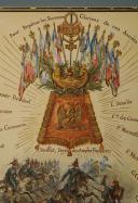 Photo 2 : MEISSONIER ERNEST : AQUARELLE ORIGINALE POUR LA CRÉATION DE LA SABRETACHE, FIN XIXème SIÈCLE.