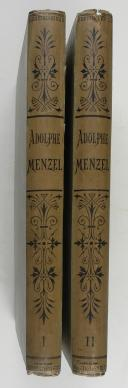 MENZEL (Adolphe). Illustrations des œuvres de Frédéric le Grand.  (2)