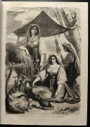 Photo 3 : LE MONDE ILLUSTRÉ, TOME XII : 2 VOLUMES RELIÉS, de janvier à juin 1863.