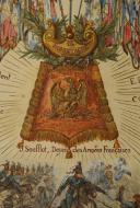 Photo 3 : MEISSONIER ERNEST : AQUARELLE ORIGINALE POUR LA CRÉATION DE LA SABRETACHE, FIN XIXème SIÈCLE.