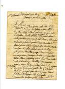 Photo 3 : 4 LETTRES DICTÉES ET SIGNÉES POUR LE SOLDAT ÉTIENNE TROUILLET À SA FEMME, CAMPAGNE DES PYRÉNÉES, 1794.