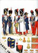 Photo 4 : LUCIEN ROUSSELOT : L'ARMÉE FRANÇAISE. SES UNIFORMES, SON ARMEMENT, SES ÉQUIPEMENTS, 106 PLANCHES ORIGINALES.