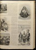 Photo 7 : LE MONDE ILLUSTRÉ, TOME XII : 2 VOLUMES RELIÉS, de janvier à juin 1863.