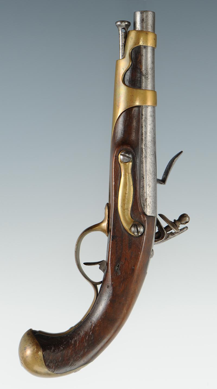 pistolet de bord de la manufacture de saint tienne vers 1780 ancienne monarchie. Black Bedroom Furniture Sets. Home Design Ideas