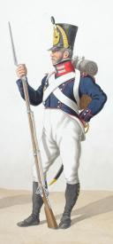Photo 2 : 1820. Compagnies de Sous-Officiers Sédentaires