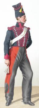 Photo 2 : 1830. Chasseurs à Cheval. Chasseurs, 12e Régiment).