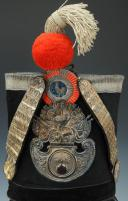 Photo 2 : SHAKO D'OFFICIER DE GRENADIER DE LA GARDE NATIONALE, MODÈLE 1830, MONARCHIE DE JUILLET.