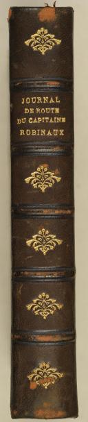 Photo 2 : ROBINAUX. (Capt.). Journal de route. (1803-1832).