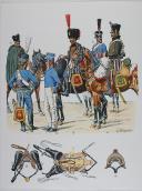 L'ARMEE FRANCAISE Planche No 22 - HUSSARDS - L. Rousselot (1)