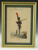 MARTINET : Troupes françaises, planche 62, fusilier de la Garde Impériale, Premier Empire.