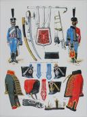 L'ARMEE FRANCAISE Planche No 22 - HUSSARDS - L. Rousselot (2)