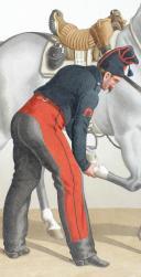 Photo 2 : 1830. Chasseurs à Cheval. Maréchal-Ferrant, Brigadier (2e Régiment).