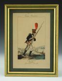MARTINET : Troupes françaises, planche 121, grenadier conscrit de la Garde Impériale, Premier Empire.