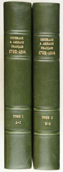 Photo 1 : Georges SIX - Dictionnaire biographique des généraux & amiraux français de la Révolution et de l'Empire (1792-1814)