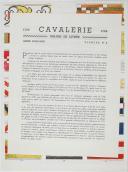Photo 2 : L'ARMEE FRANCAISE Planche No 4 - CAVALERIE - L. Rousselot