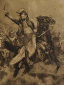 Photo 2 : DETAILLE Edouard, LE GÉNÉRAL LASALLE CHARGEANT, PREMIER EMPIRE, GRAVURE