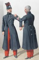Photo 2 : 1830. Chasseurs à Cheval. Officier, Maître-Ouvrier (4e Régiment).