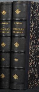 THIERS. Histoire du Consulat et de l'Empire. (2)