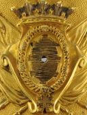Photo 2 : Waistbelt plate of an Officier des Lanciers de Monsieur, model 1814, modified during the Hundred Days.