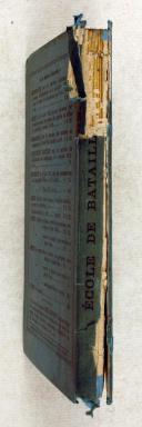 Photo 2 : Règlement : du 12 juin 1875 – sur les manœuvres de l'infanterie - École de Brigade