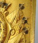 Waistbelt plate of an Officier des Lanciers de Monsieur, model 1814, modified during the Hundred Days. (3)