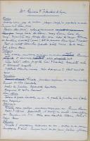 """Photo 5 : """" Notes sur la collection Würty """" - Musée de l'armée - Texte dactylographié - Carnet I"""